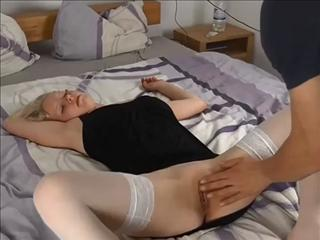 Drunk College Blonde Fucks After Party