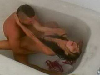 Amateur Couple Videotaped On Hidden Can Having Sex In A Bathtub