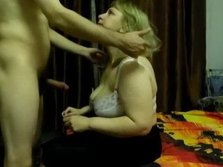 Chubby Milf Worshiped Younger Lovers Cock in Hope He Will Marry Her