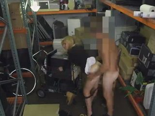 Super Sexy MILF Gets Banged In The Pawnshop Storage Room