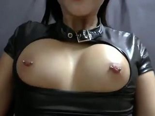 Busty Amateur Hottie With Pierced Nipples Homemade Fucked In POV