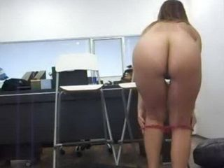 Chubby Wife Came To Husbands Office To Reduce Pressure in His Cock Before Important Business Meeting