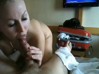 Honeymoon Vacation Blowjob And Sextape In A Hotel Room
