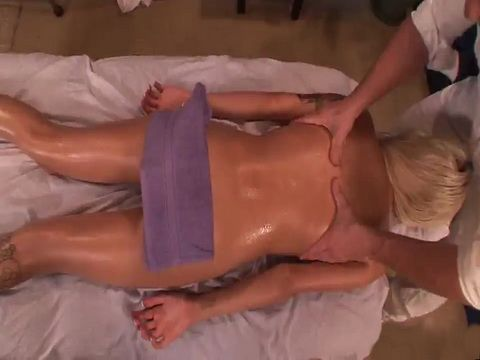 Petite Blonde Teen Visits Wrong Masseur - Emma Mae