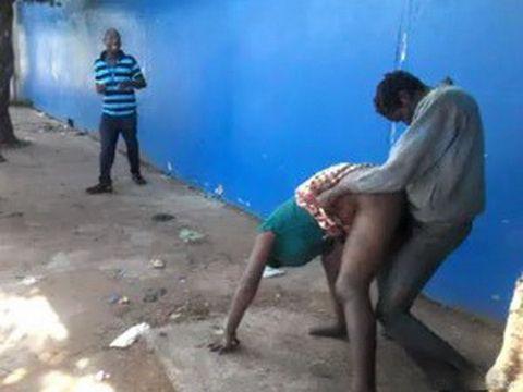 Crazy Public Sex In Africa
