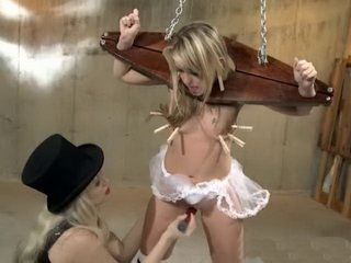Submissive Woman Loves When She Is Mistreated By Another Girl