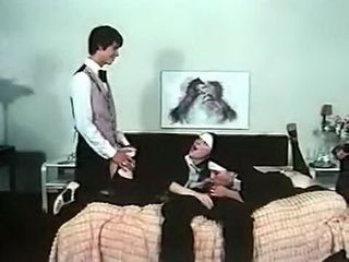 Nympho Nuns From 70s Doing It With Hotel Stuff
