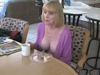 Horny Stepson Gets Horny On His Milf Stepmom With Big Joggs