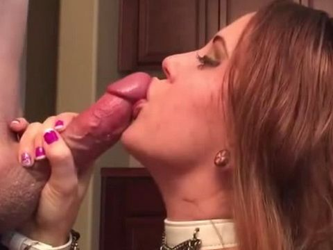 Busty Teen Let Him Cum On Her Face For His Birthday