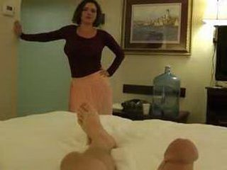 Worried Stepmom Could Not Resist Not To Help Her Sonny To Cum Easier