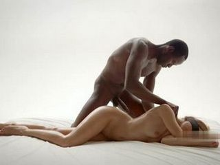 Sensual Interracial Massage