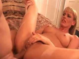Blonde Milf Had To Thanks Someway For The Ride So She Gave Her Asshole