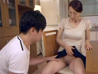 Horny Japanese Mother Can Not Hold Out Longer Without Sex Even With Her Stepson