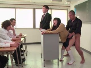 On The Class Of Sexual Education Proffesor Dealt With Theoretical Part Of Sex - Yume Kana