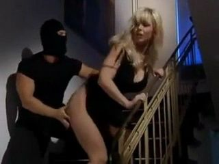 Thief Changed His Mind And Instead Of Gold He Tooks Juicy Milfs Pussy