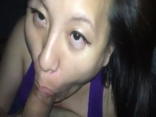 Long Awesome Blowjob Ends With A Big Facial Cumshot