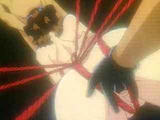 Bondage Japanese Anime Sucking Cock And Fingering ass