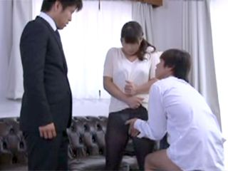 Hot Maid Sucking Boss s Cock And His Son Cock Just For Higher Salary