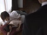 Boss Busted His Son And Mature Maid Fucking In The Middle Of The Living Room - Madoka Miki