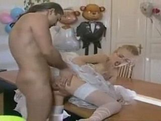 First Wedding Night Passed With Hard Assfucking