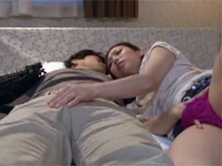 When Boss Fall Asleep Maid Came To His Bed And Start Touching Him For His Big Cock