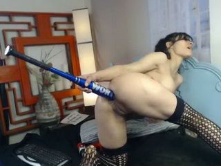 Extreme Milf Power Tool Asshole Drilling