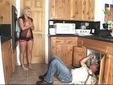 Mature Slut Use The Opportunity That Her Hubby Waw Not At Home To Have Fun With Young Plumber