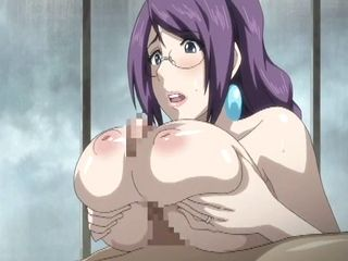 Busty Japanese Hentai Tittyfucking And Swallowing Cum
