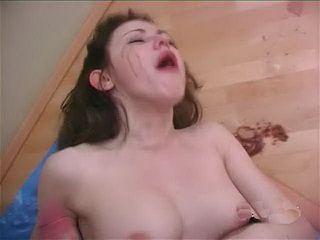 Rough Throatfuck For Dirty Teen Bitch