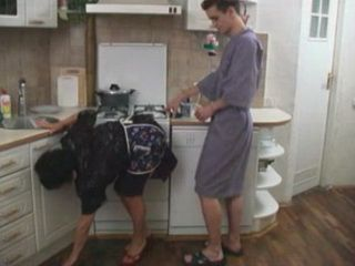 Son Best Friend Offered Busty Mature Mom Help In The Kitchen