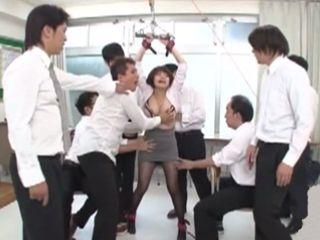 Milf Teacher Regretted For Blackmailing Principal - Aoyama Mirai