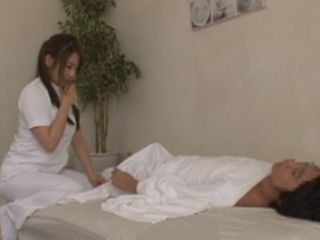 In The Middle Of Massage Treatment Client Embarrassed Himself With Erected Cock
