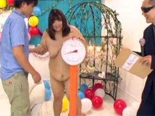 BBW Japanese Slut Fucks Contest Judge