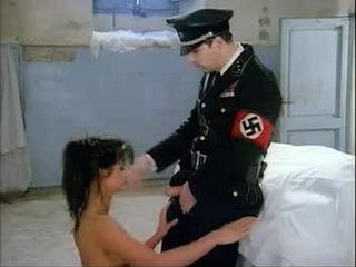 Cruel Nazi Officer Anal Fucks Female Prisioner