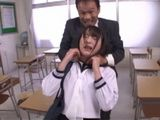 Pervert Professor Mistreated This Poor Young Girl With Hard Fucking - Suzukawa Ayane