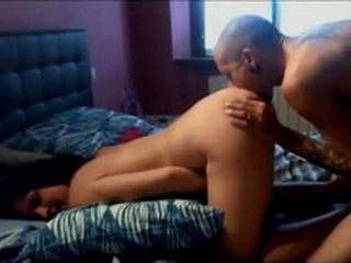 Horny Couple Make Amateur Sextape To Memorise First Dating Anniversary