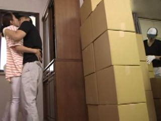 Boy From Moving Company Seduced And Fucked By Damn Hot Milf Yuko Shiraki