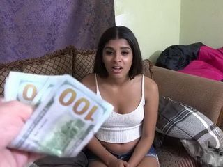 The Lack Of Money Made This Teen Slut Do Whatever Her Landlord Wants