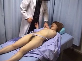 Annual Check Up At Doctors Office Gone In Other Way When Naughty Chick Grabs Doc For Cock
