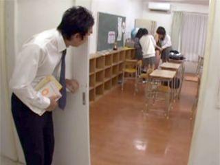 Torn Schoolgirl Get Simpathy From Older Professor