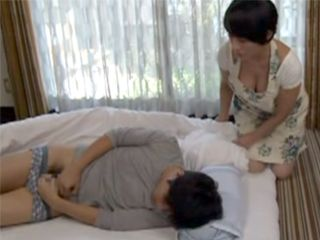 Slutty Stepmother Helped Her Stepson To Start New Day With Good Fucking