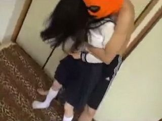 Asian Schoolgirl Attacked In The Dorm By Masked Frat Boy