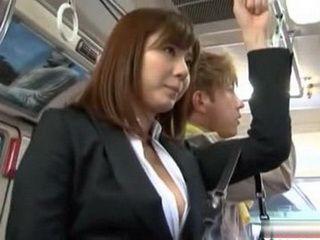 Flashing On Asian Teen Hot Ass In Bus - Yuma Asami