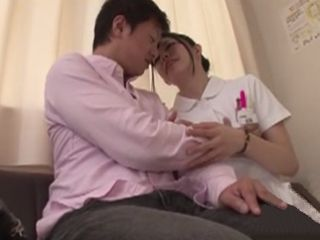 Alone Patient With Horny Nurse In The Waiting Room Ends Badly
