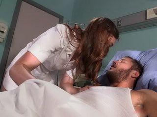 Caring Nurse Gives Amazing Anal Fucking Insted Of Morphia