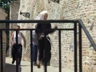 Nun Had No Chance To Escape From Two Violent Guys