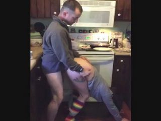 Redneck Cuckolding In The Kitchen
