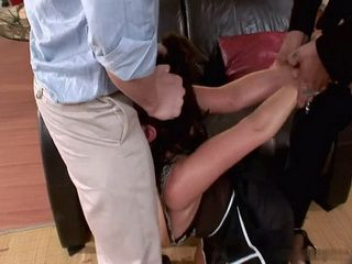 Naughty Women Gets Mouth Brutalized And Full With Cum In The End