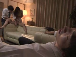 Neglected By Her Alcoholic Husband Miyu Kotohara Did Not Give Any Resistance When His Colleague Swooped Her
