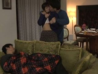 Housewife Kaori Get Swooped And Fucked By Husbands Best Friend While He Was Sleep
